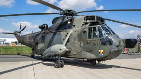 German Navy Sikorsky S-61 Sea King rescue helicopter Royalty Free Stock Image