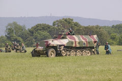 German Nazi Panzer Stock Images