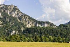 German Neuschwanstein zamek zdjęcia royalty free