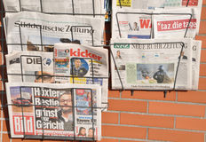 German daily newspaper Royalty Free Stock Image