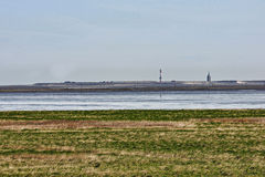 German North Sea coast No. 1 Royalty Free Stock Photo