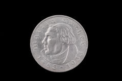German old coin Royalty Free Stock Image