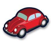 German oldtimer wolcvagen beetle car Royalty Free Stock Photos
