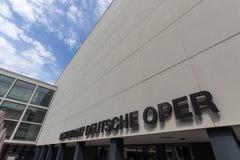 German opera building in berlin germany Royalty Free Stock Image