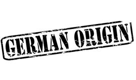 German origin. Rubber stamp with text German origin inside,  illustration Stock Images
