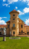 German Palace Rheinsberg on the Grienericksee, picturesque location, nature, architecture and art Stock Photography