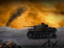 A German panzer tank Royalty Free Stock Photography