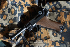 German Parabellum pistol Royalty Free Stock Image