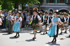 German parade in Bavaria Stock Image