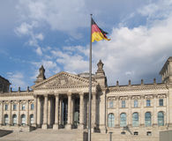 German parlament building (Reichstag) Stock Image