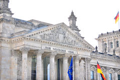 German Parliament Royalty Free Stock Photos