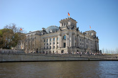 German Parliament Building Royalty Free Stock Image