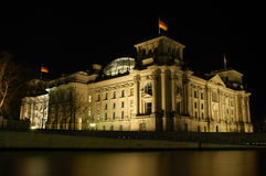 German Parliament Building Stock Photography