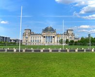 The German Parliament Building in Berlin Stock Photos