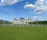 The German Parliament Building in Berlin Royalty Free Stock Image