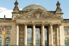 Reichstag, Germany Stock Image