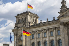 German parliament (Reichstag) building in Berlin Stock Photos