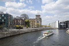 German parliament Stock Photography