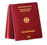 German passport stock photos