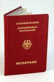 German Passport Royalty Free Stock Image