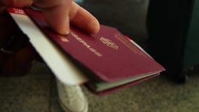 german passport arkivfilmer