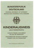 German Passport Royalty Free Stock Images