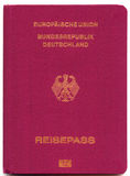 German Passport Stock Photography