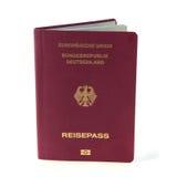 German passport isolated Royalty Free Stock Image