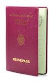 German passport Stock Image