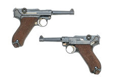 German pistol Luger Stock Photos