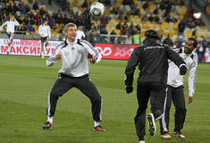 German players training session Royalty Free Stock Photography