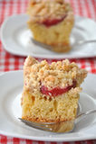 German Plum Cake Stock Photo