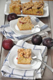 German Plum Cake Royalty Free Stock Image