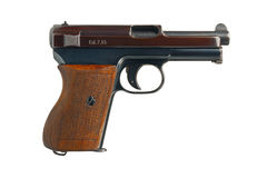 German Pocket Pistol Stock Photography