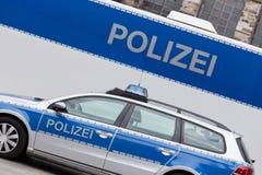 german police car Royalty Free Stock Photos