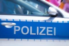 German police car door Stock Images