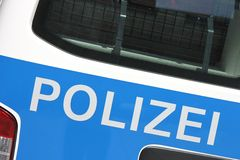 German police car Stock Photography