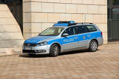 German police Royalty Free Stock Photo