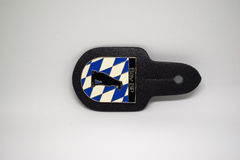 German police epaulets isolated Stock Photos