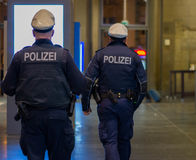 German police Stock Photos