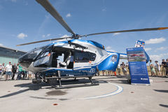 German police helicopter  Airbus H-145M Stock Image