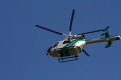 German police helicopter McDonnell Douglas MD-902 Royalty Free Stock Photo