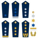 German police insignia Stock Photography