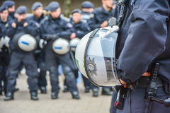 German Police Stock Photo