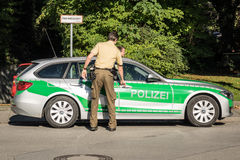 German Police Royalty Free Stock Images
