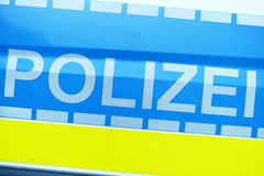 German Police Royalty Free Stock Photography