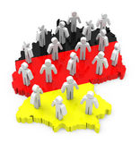 German population Stock Photo
