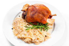 German Pork Knuckle Stock Photos