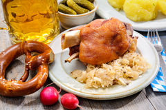 German Pork Knuckle Royalty Free Stock Photo