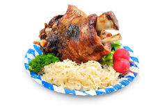 German Pork Knuckle Royalty Free Stock Photography